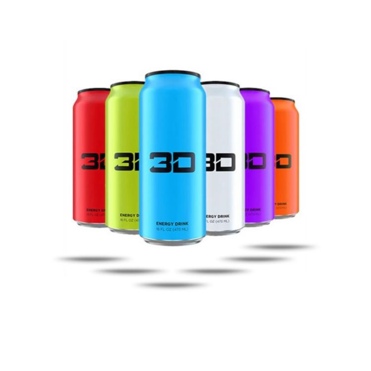 3D Energy Drink